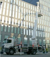 Telescopic Truck Mounted Boom Lifts with Jib