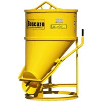 Conical Material Buckets